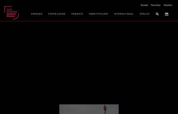 Vorschau von www.bdat.info, Bund Deutscher Amateurtheater e.V.