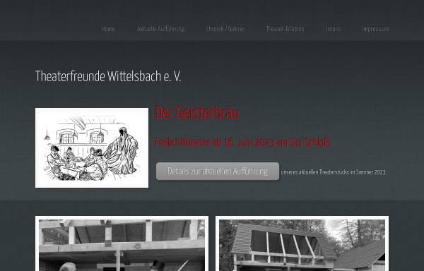 Vorschau von www.theaterfreunde-wittelsbach.de, Aichach, Theaterfreunde Wittelsbach e.V.