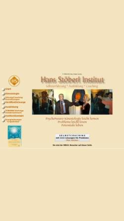 Vorschau der mobilen Webseite www.kinesiologie-stoeberl.de, Hans Stöberl Institut