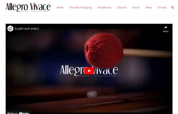 Vorschau von www.allegrovivace.net, Allegro Vivace