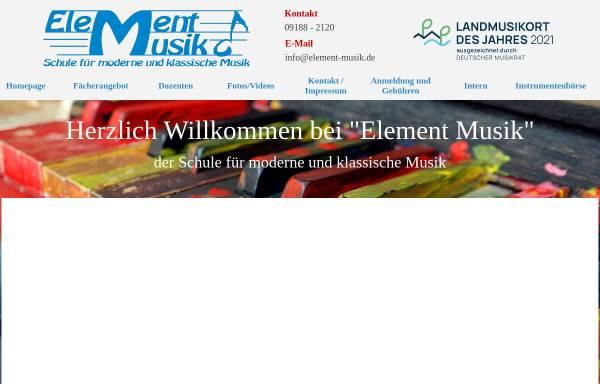 Vorschau von www.element-musik.de, Element Musik