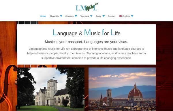 Vorschau von www.lmfl.com, Internationaler Sprach- und Musiksommer