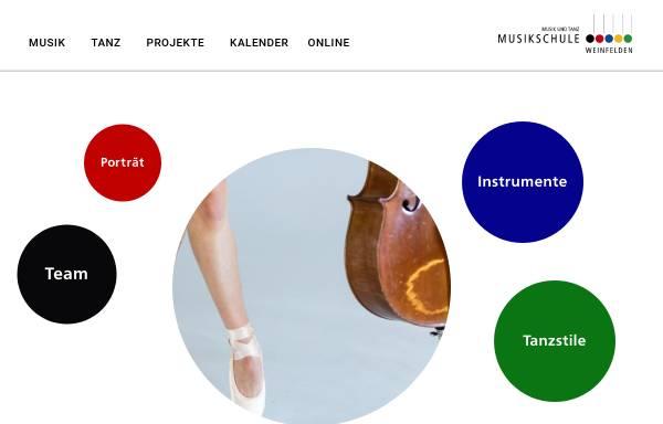 Vorschau von www.musikalis.ch, Jugendmusikschule CH-8570 Weinfelden