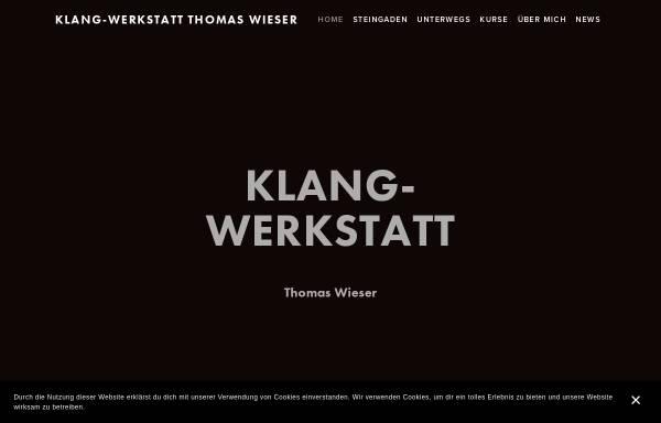 Vorschau von www.klang-werkstatt.eu, Klangwerkstatt