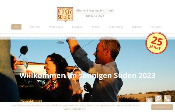 Vorschau von med-music-school.com, Mediterranean Music School