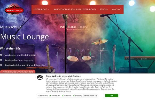 Vorschau von www.my-music-lounge.de, Music Lounge Hamburg