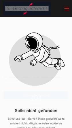 Vorschau der mobilen Webseite www.musicalandmore.de, Musical & More, Hamburg