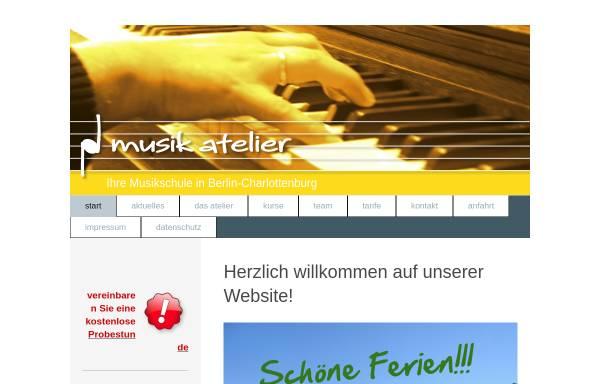 Vorschau von musikatelier-berlin.de, musik atelier