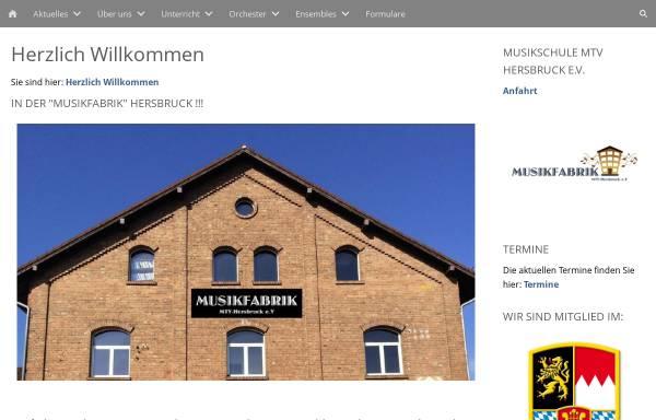 Vorschau von www.mtv-hersbruck.de, Musik- und Theaterverein Hersbruck e.V.