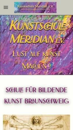 Vorschau der mobilen Webseite www.musikschule-am-oelper-see.de, Musikschule am Ölper See