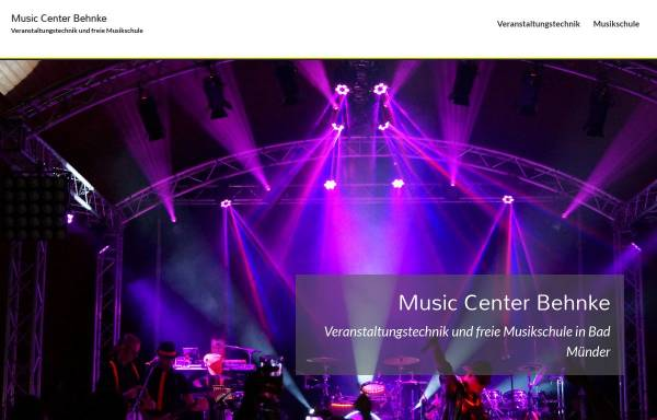 Vorschau von www.musikschule-bad-muender.de, Musikschule und Fachhandel, Bad Münder