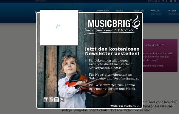 Vorschau von www.musikschule-koeln.net, musikschule-koeln.net
