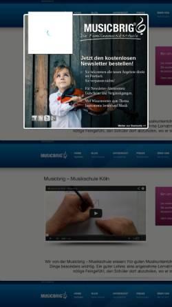 Vorschau der mobilen Webseite www.musikschule-koeln.net, musikschule-koeln.net