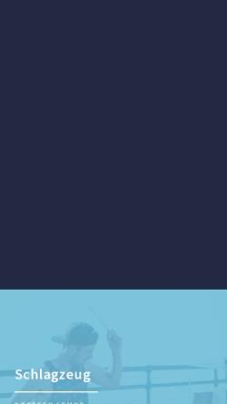 Vorschau der mobilen Webseite www.musikunterricht-kleinmachnow.de, Musikunterricht in den Kammerspielen - Kleinmachnow