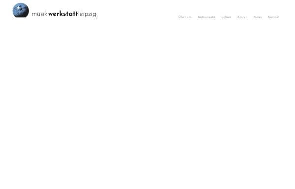 Vorschau von www.musikwerkstattleipzig.de, Musikwerkstatt Leipzig