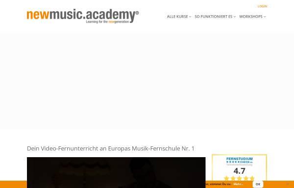 Vorschau von www.newmusicacademy.de, Newmusicacademy