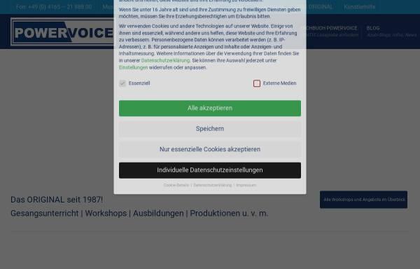 Vorschau von powervoice-academy.de, Powervoice