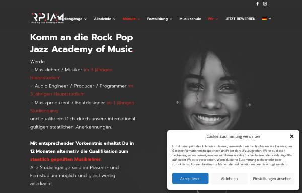 Vorschau von www.rpjam.de, Rock-Pop-Jazz-Akademie Mittelhessen