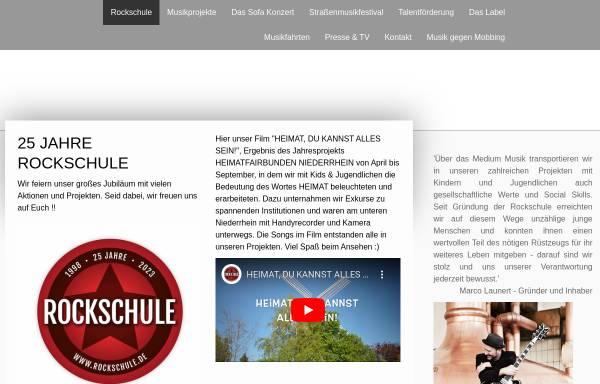Vorschau von www.rockschule.de, Rockschule
