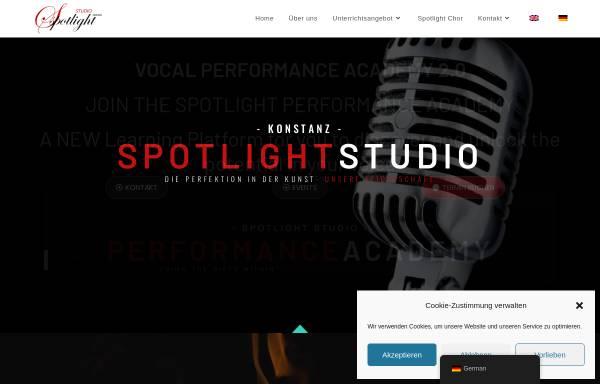 Vorschau von www.spotlight-studio.de, Spotlight Studio - Konstanz