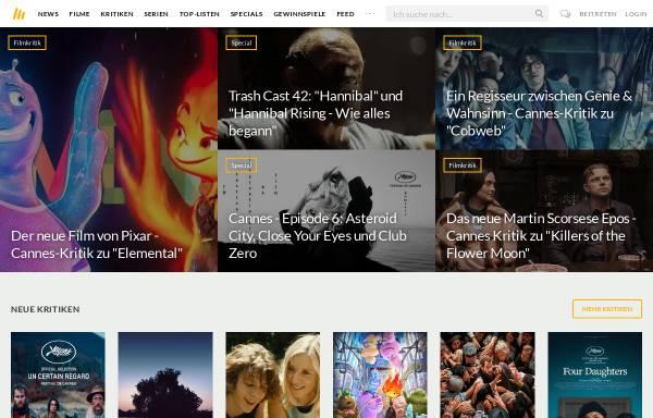 Vorschau von www.moviebreak.de, Movierebreak