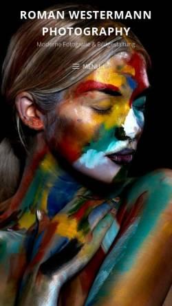Vorschau der mobilen Webseite f-vision.ch, Westermann, Roman