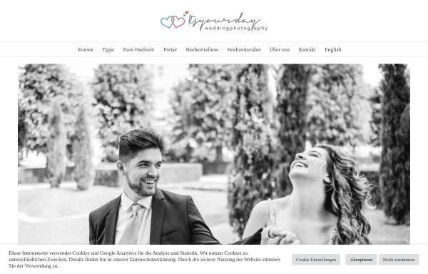 Vorschau von www.itsyourday.at, Itsyourday wedding photography