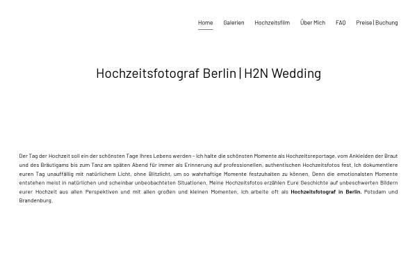 Vorschau von berlin-hochzeitsfotograf.net, Hochzeitsfotograf - H2N Wedding