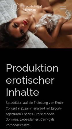 Vorschau der mobilen Webseite gelner-photography.com, Gelner, Dennis
