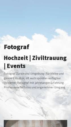 Vorschau der mobilen Webseite utzi.ch, Hochzeitsfotograf – utzi.ch