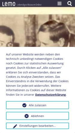 Vorschau der mobilen Webseite www.dhm.de, Biographie: Maxim Gorki, 1868-1936