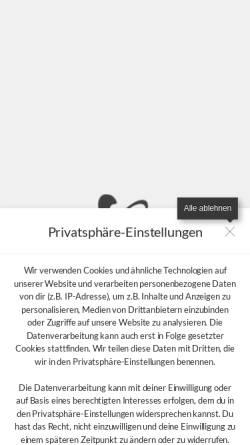 Vorschau der mobilen Webseite www.musikschulemagdeburg.de, Magdeburger : Rock : Pop : Jazz : Schule