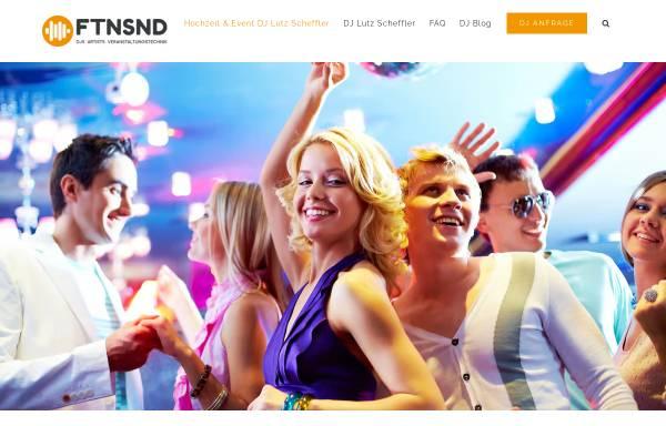 Vorschau von www.fetensound.de, Silvester DJ Lutz Scheffler