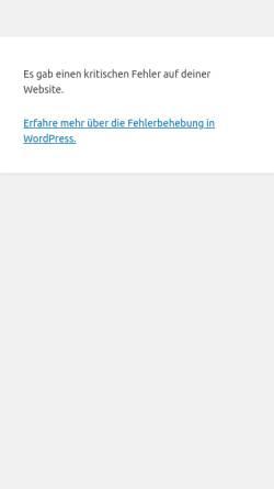 Vorschau der mobilen Webseite www.rockdj.info, Rock DJ Lutz Scheffler