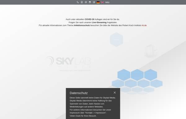 Vorschau von skylab.de, SKYLAB media