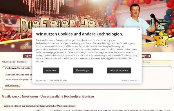 Vorschau von www.diefeier.de, Guido Gleichmann - DieFeier.de