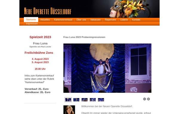 Vorschau von neue-operette-duesseldorf.de, Düsseldorfer Operette