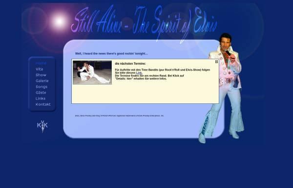 Vorschau von www.kingelvis.de, Still Alive - The Spirit of Elvis