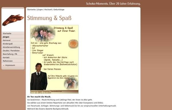Vorschau von www.schoko-moments.de, Schneider, Jürgen