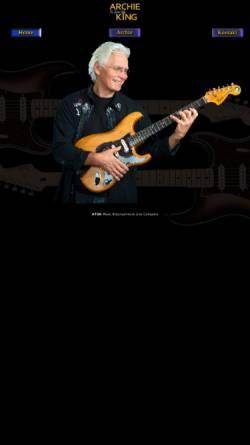Vorschau der mobilen Webseite www.archieking.at, Archie - The Guitar King