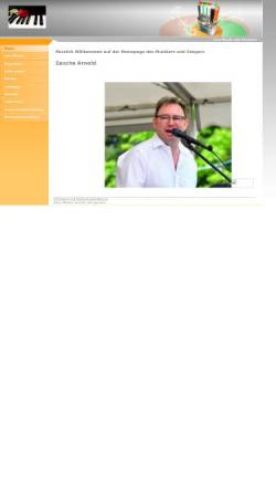 Vorschau der mobilen Webseite www.musikservice-sascha-arnold.de, Arnold, Sascha