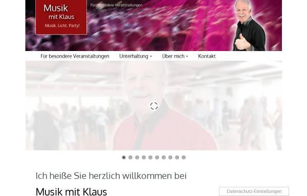 Vorschau von www.musik-mit-klaus.de, Musik mit Klaus