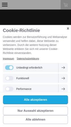 Vorschau der mobilen Webseite www.floriangeibel.de, Geibel, Florian