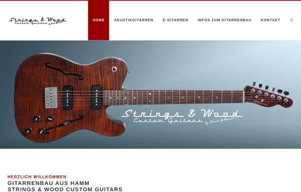 Vorschau von stringsandwood.de, Strings And Wood - Gitarrenbau aus Hamm