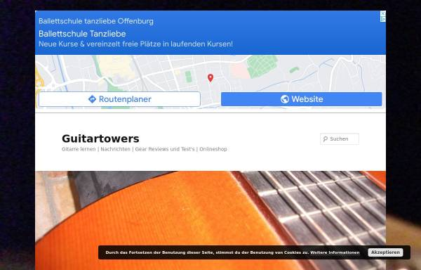 Vorschau von www.guitartowers.de, Guitar-Towers
