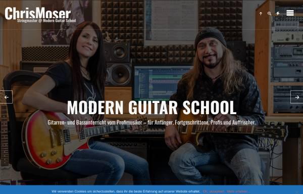 Vorschau von www.modern-guitar-school.com, Moser, Christian