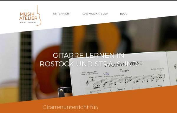 Vorschau von www.musikatelier-rostock.de, Musikatelier Rostock
