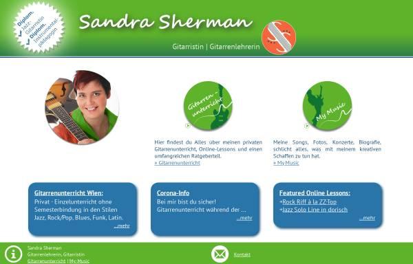 Vorschau von www.sandrasherman.com, Sherman, Sandra