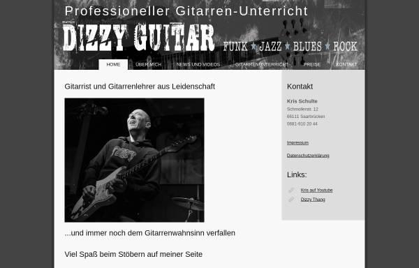 Vorschau von www.dizzyguitar.de, Dizzy Guitar
