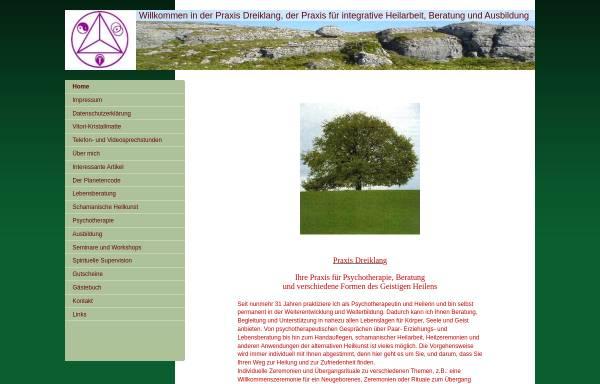 Vorschau von www.dreiklang-spandau.de, Praxisgemeinschaft Dreiklang